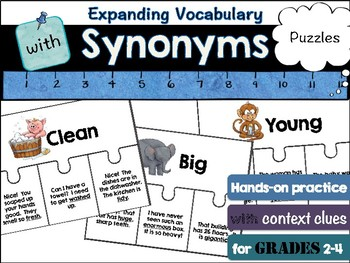 Synonyms in context: puzzles