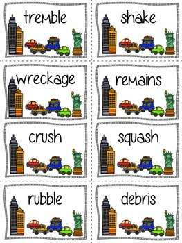 Synonyms in the City: A Game for Upper Elementary