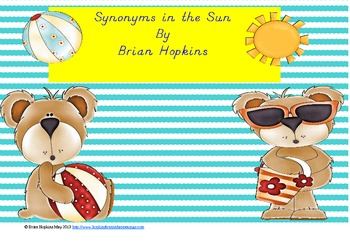 Synonyms in the Sun