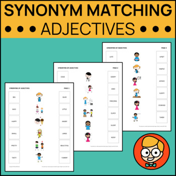 Synonym Matching: Adjectives