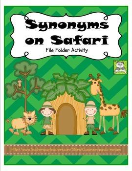 Synonyms on Safari File Folder Activity (CC Aligned)