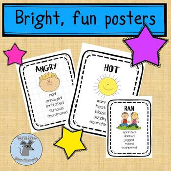 Synonyms posters - In Other Words
