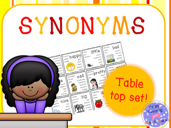 Synonyms - table top set