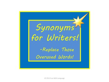 Synonyms!