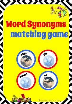 Word Synonyms matching game