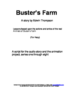"Synopsis of ""Buster's Farm"" stories Series 1-8"