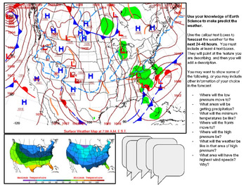 Weather Mapping, Analysis, and Prediction Digital Activity