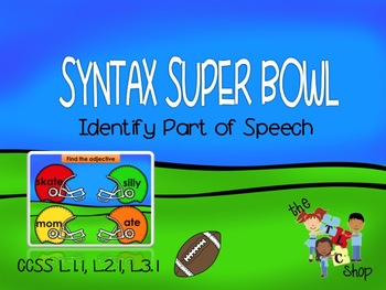 Syntax Super Bowl! Interactive PowerPoint Game