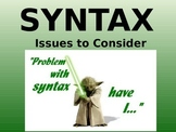 Syntax in The Scarlet Letter