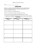Synthesis Chart Template / Graphic Organizer