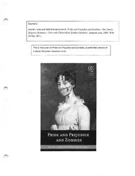 Synthesis Essay Pompt and Materials: Zoombies