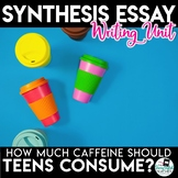 Synthesis Essay Unit - How Much Caffeine Should Teenagers