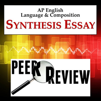 Synthesis Essay peer review activity