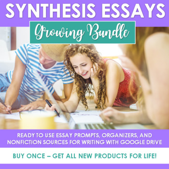 The Synthesis Essay {A Growing Bundle of Argumentative, Analytical Writing}
