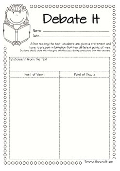 Synthesising Guided Reading Worksheets