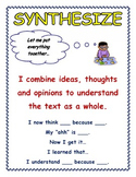 'Synthesize' Anchor Chart