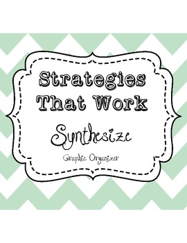 Synthesize Graphic Organizer - Content/Process