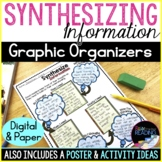 Synthesize Information Reading Comprehension Strategy Poster & Graphic Organizer