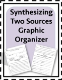 Synthesizing  2 Sources Graphic Organizer