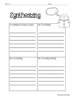 Synthesizing Graphic Organizer
