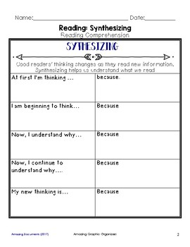 Synthesizing Graphic Organizers for Guided Reading