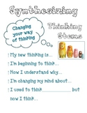 Synthesizing: Reading Strategies that Count!