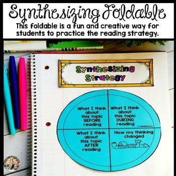 Synthesizing Reading Strategy Week Lesson and Practice