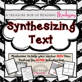 Synthesizing Text -- Reading Minilessons to Grow and Deepe