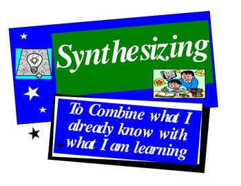 Synthesizing to Understand {Classroom Poster}