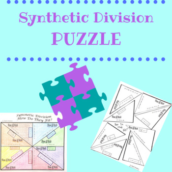Synthetic Division Puzzle
