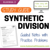 Synthetic Division Study Guide