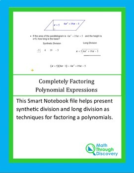 Completely Factoring Polynomials Expressions