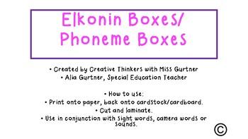 Synthetic Phonics- Phoneme Boxes