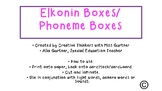 Synthetic Phonics- Phoneme Boxes