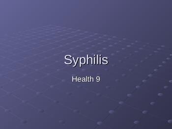 Syphilis Powerpoint