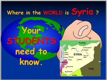 Syria : Where is Syria ?