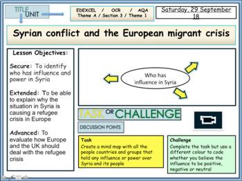 Syria and European migrant crisis