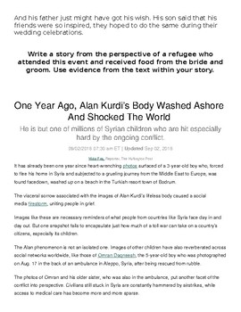 Syrian Refugee Articles
