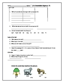 System 44 Decodable Digest 2.5