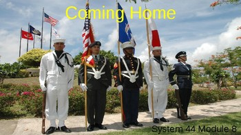 """System 44 Next Generation Module 8 PowerPoint """"Coming Home"""""""