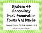 System 44 Next Generation Secondary Focus Wall Bundle