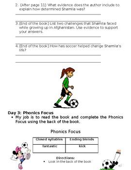 System 44 Shamila's Goal Book Log