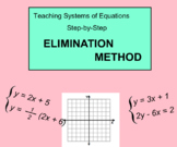System Of Equations - Elimination Method