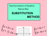 System Of Equations - Substitution- Lesson 8