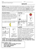 System of Equations Foldable