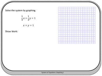 System of Equations: Graphing