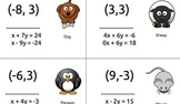 System of Equations Scavenger Hunt