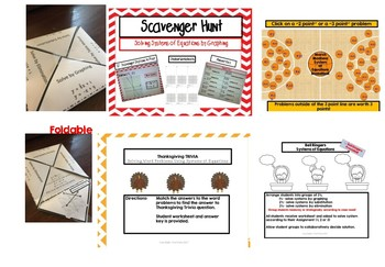 A System of Linear Equations Bundle - 50% OFF Individual Activities