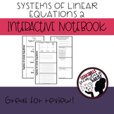 System of Linear Equations Interactive Notebook Part 2