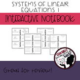 System of Linear Equations Interactive Notebook part 1